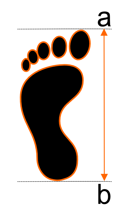 piede per misura